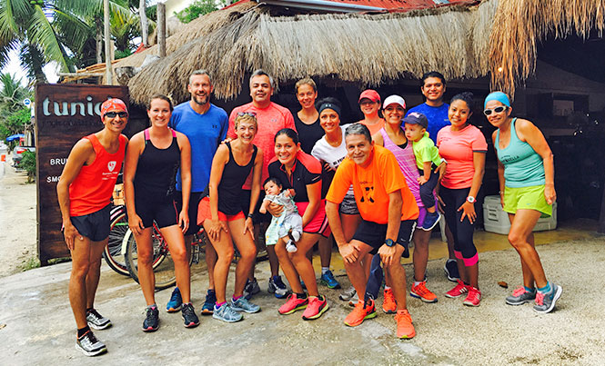 Organizers of Tulum Running have recently announced a new running race series, the Circuito Pueblos Magicos / Photo: Ashley Campo
