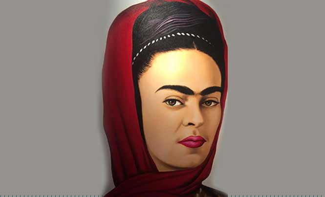 The exhibition is curated by Cristina Kahlo, Frida´s great-niece / Photos: Raquel Garza