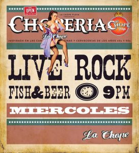 Rock Night at La Choperia @ La Choperia