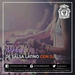 Latino Salsa at La Drinkeria by Henry Miller @ La Drinkeria by Henry Miller