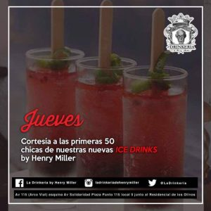 1st 50 Ladies Night at La Drinkeria by Henry Miller @ La Drinkeria by Henry Miller